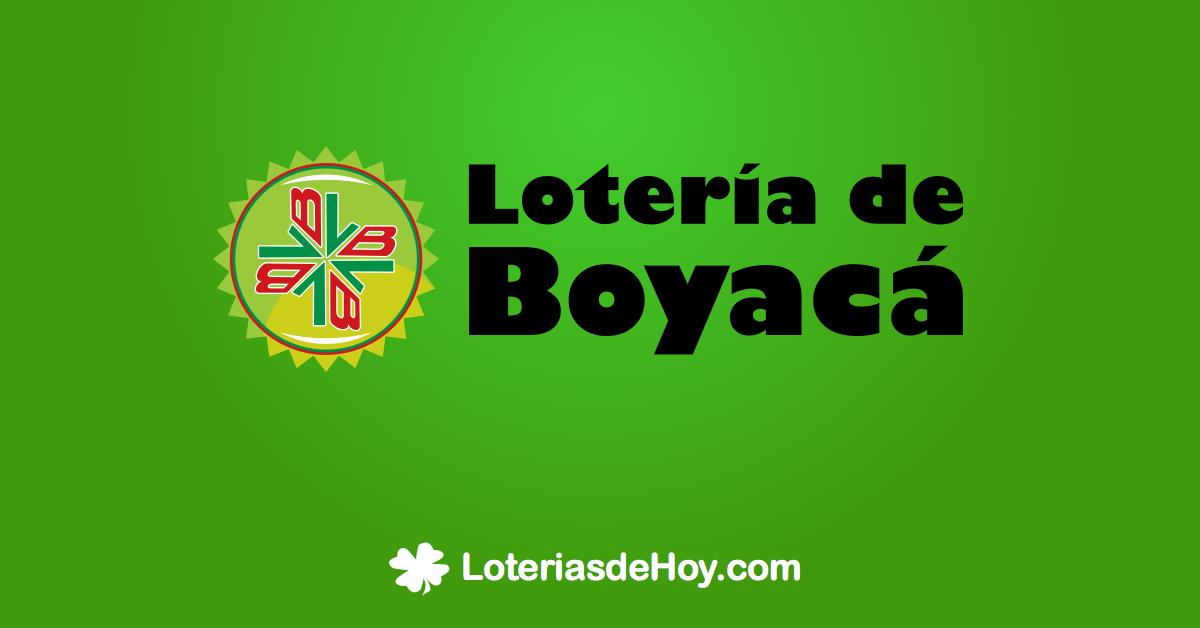 Loteria de boyaca 18 mayo 2020